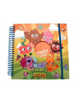 Moshi Monsters Notebook Stationary Moshi activity notebook - contains stickers and activity pages