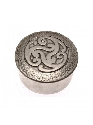 Celtic design pot and lid made by Open Ocean CLT800