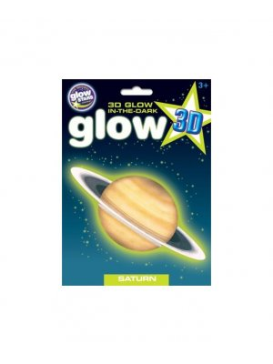 Glow in the dark 3D sticker Saturn