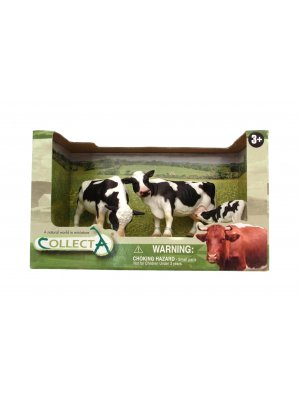 Plastic Farm animals Plastic Toy Animals plastic Freesian Cows