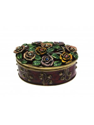Jewellery Boxes For Women Small Jewellery Box Enamel Jewellery Boxes Red