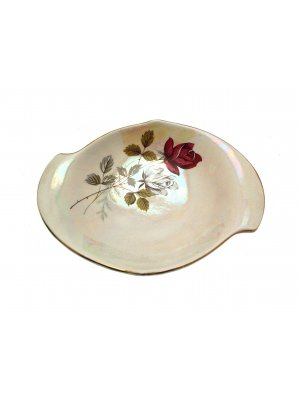 Royal Winton Grimwades Rose Lustre Butter Dish - CLT114