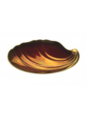 Art Deco Grimwades Royal Winton Rouge Gilded Dish - CLT119