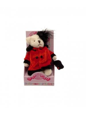 Teddy bear mobile phone charm bag charm or purse charm 1