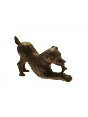 Bronze Sculptures Dog Bronzes Dog Ornaments Jack Russell Terrier Dogs
