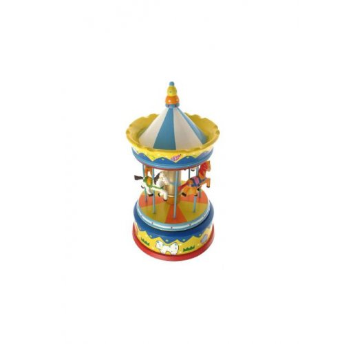 Music Box Carousel Toy Horse Musical Kids 28 Cms