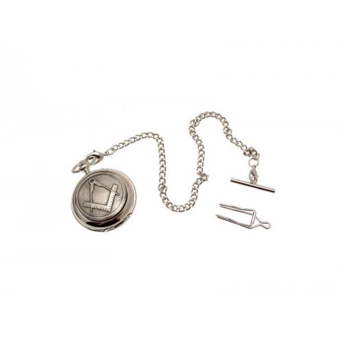 7f0029cdc ... Pocket Watches For Men Mechanical Pocket Watch Masonic design 37 Pewter  Fronted ...