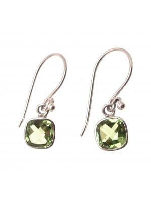Peridot Stone Peridot Jewelry Gemstone Jewellery Peridot Earrings 925 Silver CH93